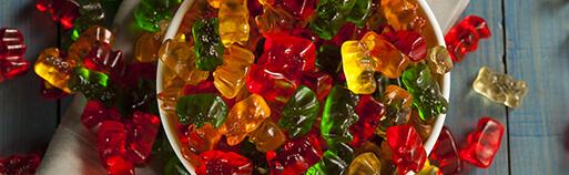 Gummibärchen ohne Zucker kaufen. Zuckerfreie Gummibärchen kaufen