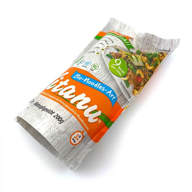Vitanu Bio Konjak Nudeln glutenfrei und kalorienarm. Konjaknudeln online kaufen