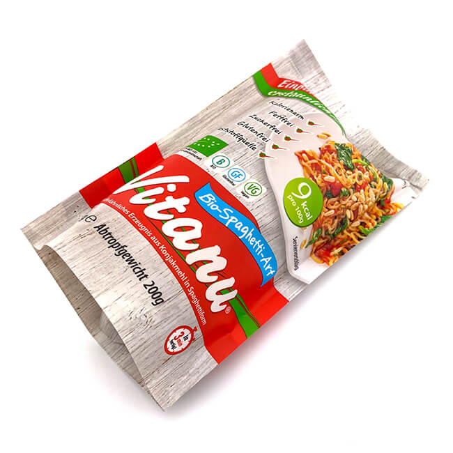 Vitanu Bio Spaghetti nur 9 kcal / 100 g & glutenfrei. Glutenfreie fertig Spaghetti