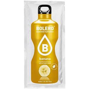Bolero Instant Erfrischungsgetränkepulver 9 g Beutel BANANA für 1,5 l Getränk! Bolero Instant Getränkepulver Beutel für fertiges Getränk.