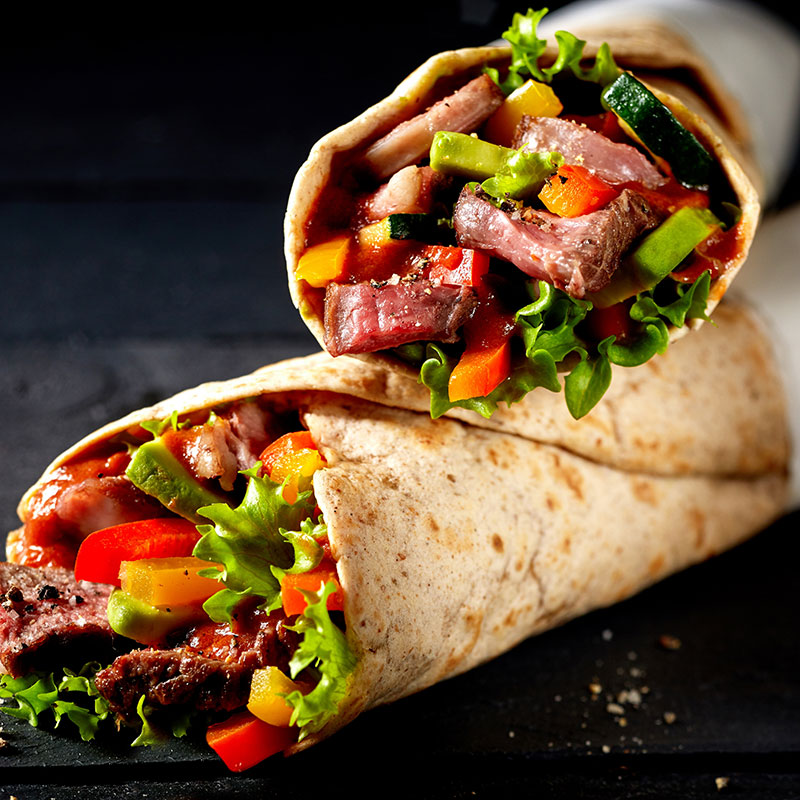 Protein Tortilla Wraps 280 g Packung